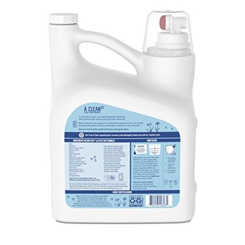 Seventh Liquid Detergent, & 150 oz, 99 Loads