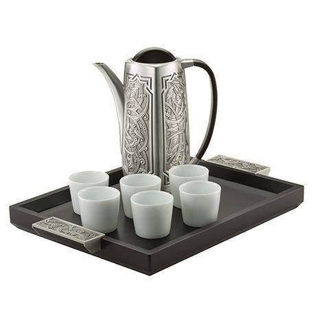 Royal Selangor Hand Finished Atiya Collection Pewter Coffee Set