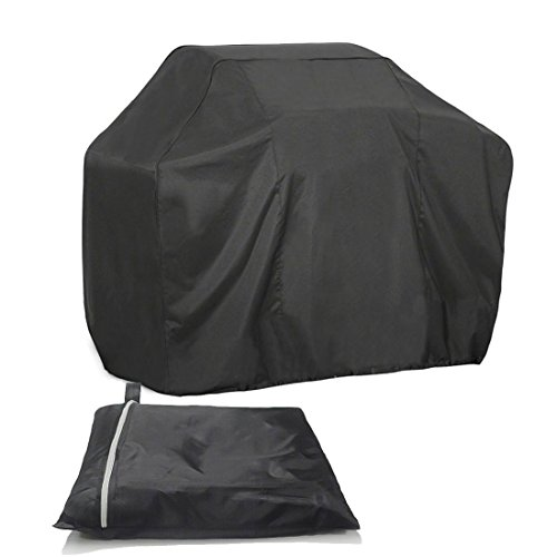 Grill Cover 75 inch Waterproof Breathable Outdoor Gas BBQ Grill Cover Extra Large for Weber Holland Char Broil Brinkmann and Jenn Air