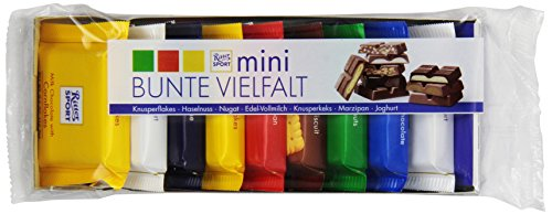 Ritter Sport 9 Minis Cello Wrapped Trays, 5.3 Ounce (Pack of 24) by Ritter Sport
