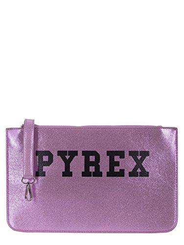 PYREX Pochette, tessuto laminato, rosa, CM 33X21X0,5