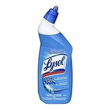 Lysol Toilet Bowl Cleaner Action Gel, Spring Waterfall,  710 ml