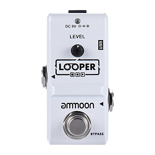 ammoon-ap-09-nano-loop-electric-guitar-effect-pedal-looper-true-bypass-unlimited-overdubs-10-minutes