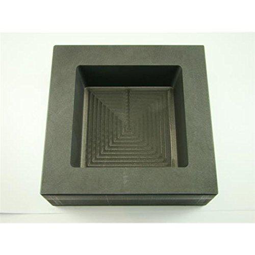 Make Your Own Gold Bars 100 oz Square Mold - B50 100 oz Gold 50 oz Silver Bar High Density Graphite Square Slab Mold Loaf