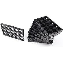 Z-COLOR 10Pcs 18650 Battery Holder 3x5 Cell Spacer Radiating Shell Plastic Heat Holder Bracket