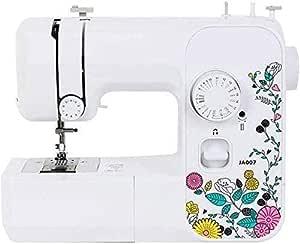 Máquina de coser, mini portátil pequeña función compacto de peso ligero del hogar portátil multi máquina de coser ...