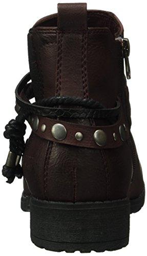 Tom Tailor 1697301, Zapatillas de Estar por Casa para Mujer Rojo - Rot (Bordo)