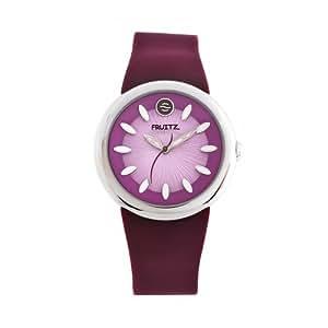 Philip Stein Plum Women's Casual Rubber Strap Watch - F36S-PL-PR
