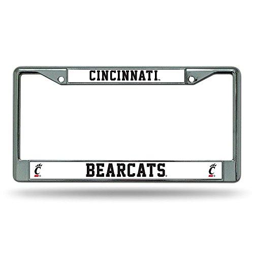 Rico Industries NCAA Cincinnati Bearcats Standard Chrome License Plate Frame
