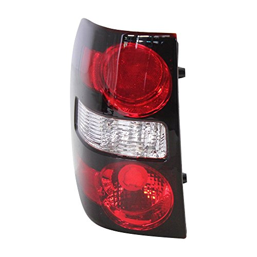 Tail Light for Ford Explorer 06-10 Lens and Housing CAPA Certified Left Side ()