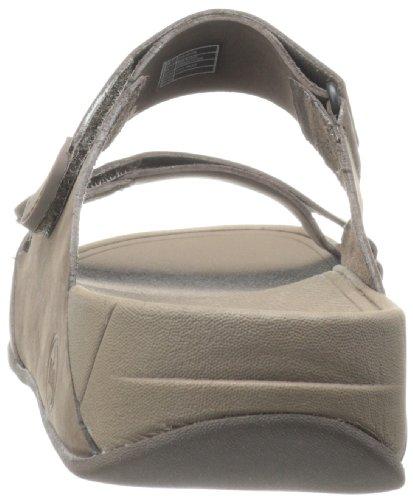 De Slide Fitflop Ajustables Marrón chocolate Hombres Adjustable Cuero Sandalias Gogh Para qCCw5rxXA