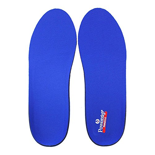 Powerstep Pinnacle Men's / Women's Full Length Insoles M 10-10.5 / W 12-12.5 Size G (Pinnacle Step Insoles Power)