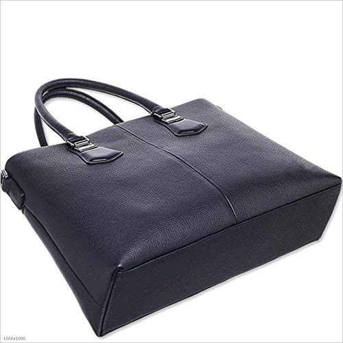 WUSHIYU Mens Messenger Bag Mens Briefcase Leather Mens Bags Business Bags Bags Cross-Section Mens Bags Suitable for Business Casual Satchel Shoulder Bag