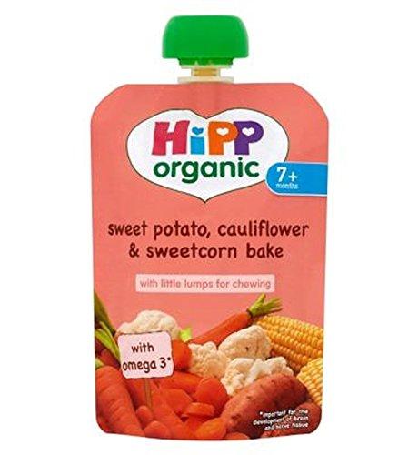 Hipp Organic Sweet Potato, Cauliflower & Sweetcorn Bake 7+ Months 130G - Pack of 2