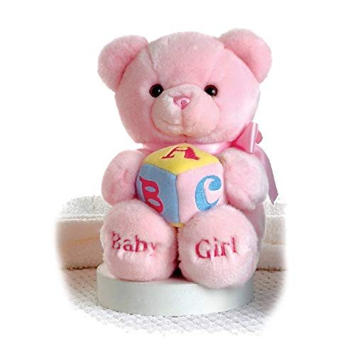 Aurora World Plush ABC Musical Comfy Baby Girl Bear 9