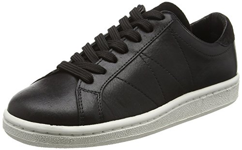 outlet order online Wood Wood Unisex Adults' Bo Shoe Low-Top Sneakers Black (Black) cheap sale marketable d3z1Rq1