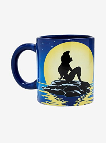 Disney The Little Mermaid Flounder Spinner Mug