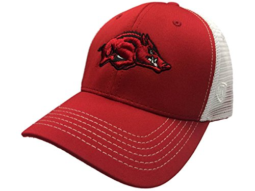 Arkansas Razorbacks TOW Black Ranger Mesh Adjustable Snapback Hat Cap