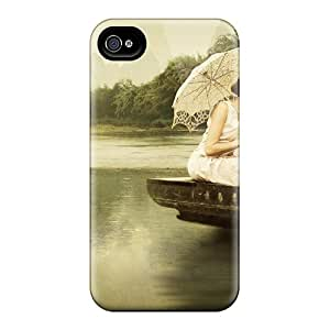 Iphone High Quality Tpu Case/ Painted Veil Movies XVB885kaSP Case Cover For Iphone 4/4s by icecream design