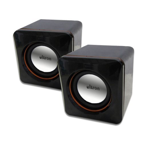 Ultron Aktivboxen Minicubes 2.0 für Notebook und PC schwarz