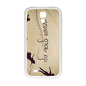Never Grow Up New Style High Quality Comstom Protective case cover For Samsung Galaxy S4