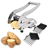 Best French Fry Cutters - French Fry Cutter, Sopito Stainless Steel Potato Slicer Review