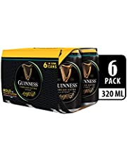 Guinness Foreign Extra Stout Beer Can, 320ml (Pack of 6)