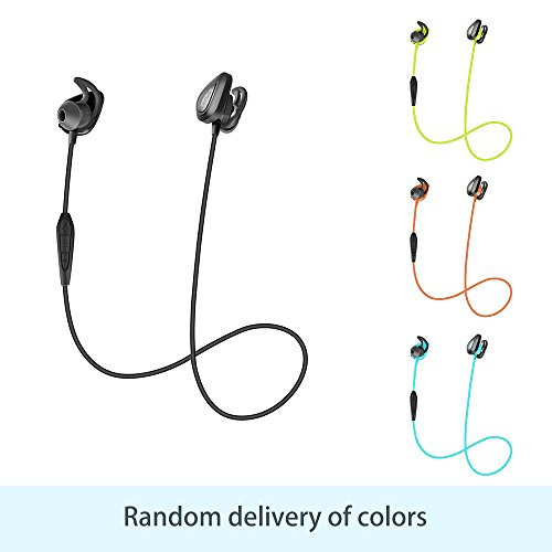 Bluetooth Headphones, Wireless Earbuds Sport, Richer Bass Stereo In-Ear Earphones with 6 Hrs Playback Noise Cancelling Headsets(Randomly Assigned Colors)