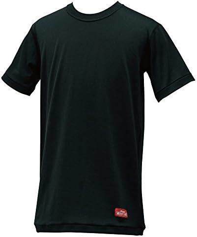 ブレスサーモ やわらかストレッチ丸首半袖シャツ(ジュニア用)