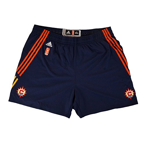 (adidas Connecticut Sun Authentic On-Court Team Issued WNBA Navy Shorts Women's)