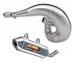 FMF Racing Fatty Exhaust Pipe Shorty Silencer Combo For Kawasaki KX 250 2003