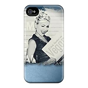 Happycatcase Slim Fit Tpu Protector Ztq3254XPmG Shock Absorbent Bumper Case For Iphone 4/4s