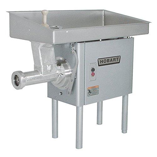 - Hobart 4146 Five HP Electric Meat Grinder w/ Carbon Steel Plate