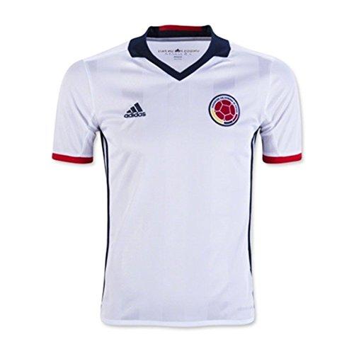 道死タブレットadidas Colombia Home Soccer Jersey Copa America Centenario 2016 YOUTH/サッカーユニフォーム コロンビア ホーム用 背番号なし ジュニア向け