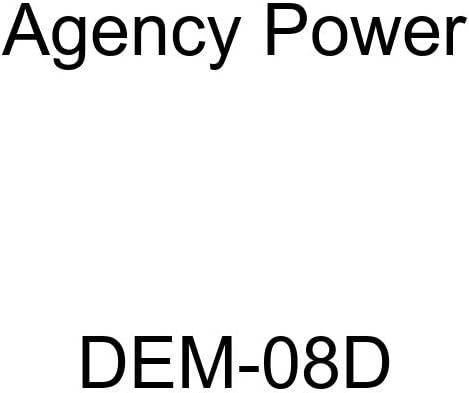 Agency Power DEM-08D Carburetor Adapter Dash 8 Female Swivel To 9//16-24, DEMON Carb