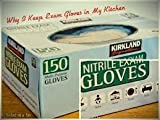 Kirkland Nitrile Gloves Large, 2- Boxes of 200 Each. 400 Total
