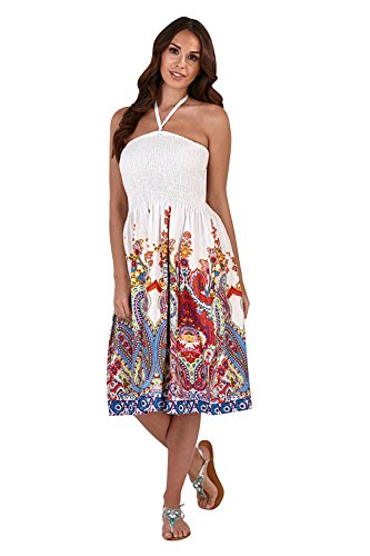 's 3 In 1 Paisley Print Dress Multicoloured Print - X Large ()