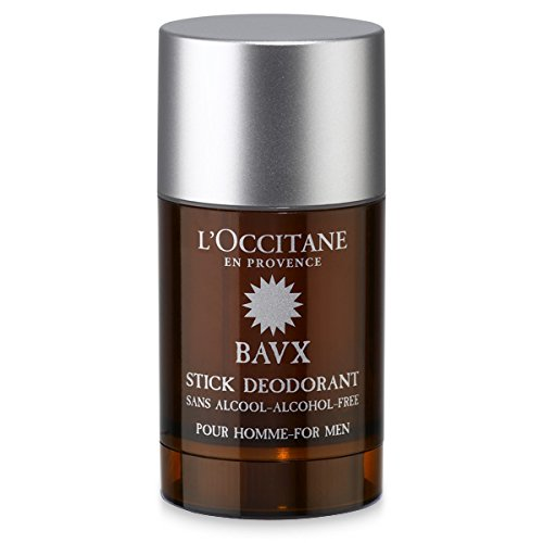 L'Occitane Baux Deodorant for Men, 2.6 Oz