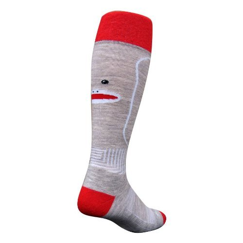 SockGuy Mtn-Tech Snowboard Wool Socks, OTC, Ape, S/M (M 5 9, W 6 10) comes with a sock ring