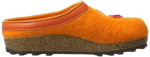 Giesswein Unisex-Erwachsene Calau Pantoffeln Orange (Mandarine)