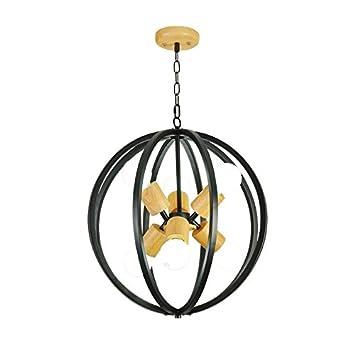 Amazon.com: LgoodL 5 cabezales vintage de hierro lámpara ...