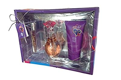 Love Rush 3 piece Gift Set for Women Perfume and Body Lotion