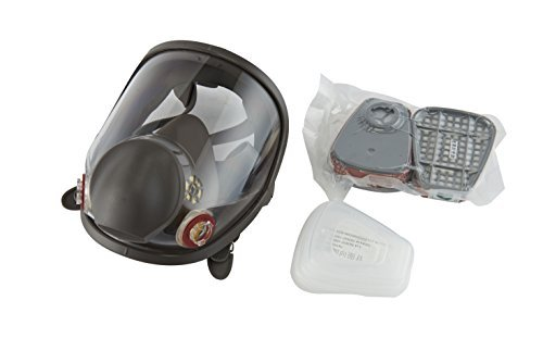 Holulo Full Face Facepiece Respirator Paint Spray Mask with 2 x Organic Vapor Cartridges by Holulo (Image #5)