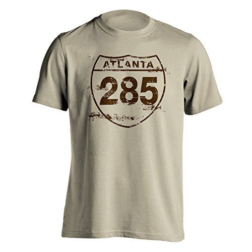 Atlanta 285 Vintage T-Shirt XXX-Large Sand (Sign Highway Atlanta)