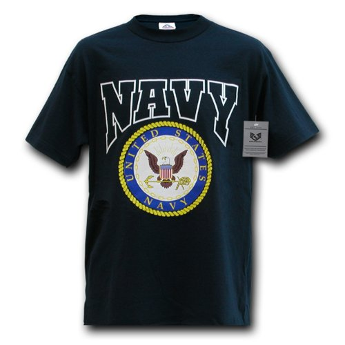 Rapiddominance Classic Military Tee, Navy,