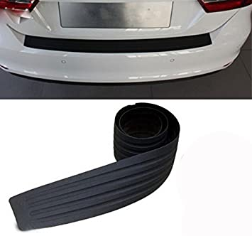 Interior Accessories Capable Car Scratch Bar Universal Car Rear Bumper Sill/protector Plate Rubber Cover Guard Trim Pad Sep13