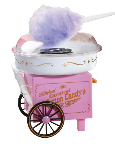 Nostalgia Electrics CCM-905 Vintage Collection Old Fashioned Carnival Hard and Sugar-Free Cotton Candy Maker (Old Fashioned Cotton Candy Maker compare prices)