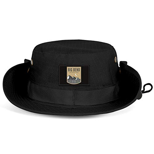 GONLFGKDSTY Big Bend National Park Unisex Man Fishing Hat Camping Breathable Hunting Caps (Fishing The Black Canyon Of The Gunnison)