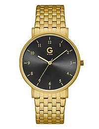 GUESS Factory Gold-Tone Bracelet Watch