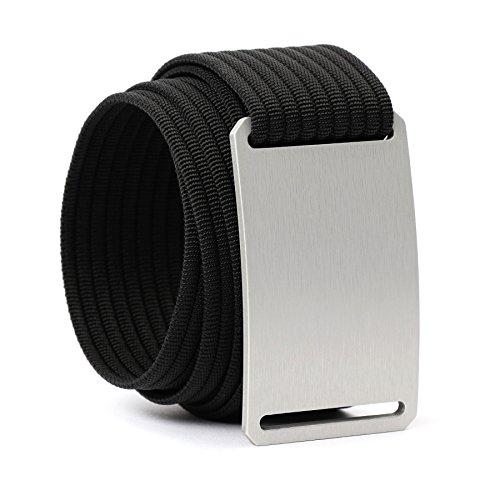 Grip6 Adjustable No Holes Men's Belt (34, Business Time)